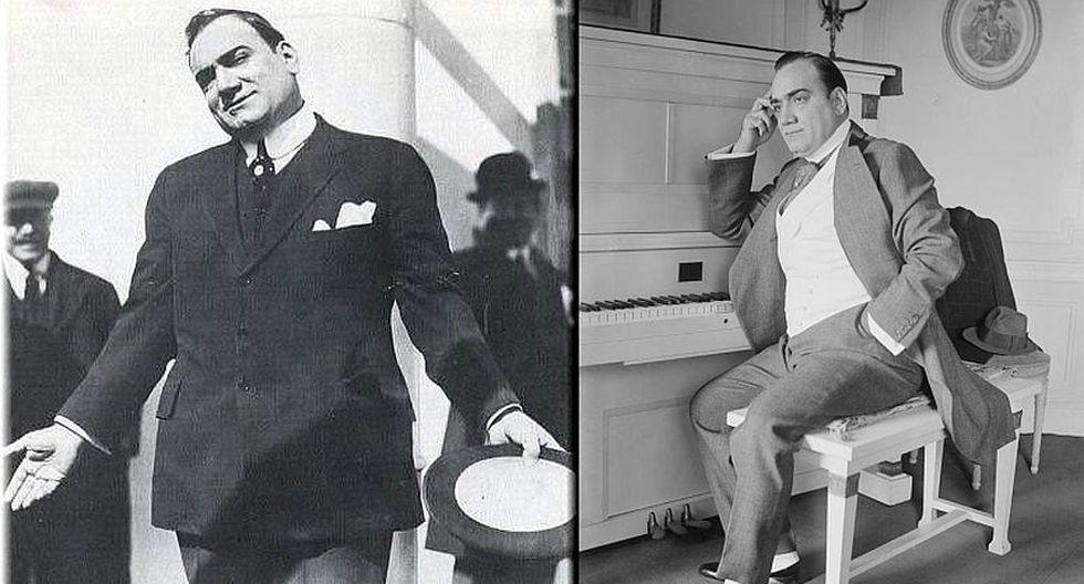 Enrico Caruso: Tenor italiano, fue el cantante más popular durante los primeros años del siglo XX. Fue aclamado por su potencia, belleza, riqueza de tono y técnica superlativa. (Internet)