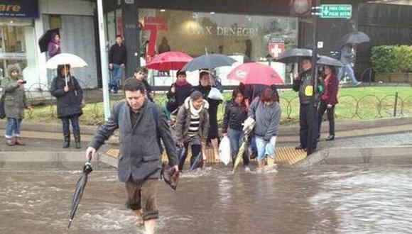 Lluvias dejaron a 9,000 personas aisladas en el sur de Chile. (radio.uchile.cl/ Referencial)