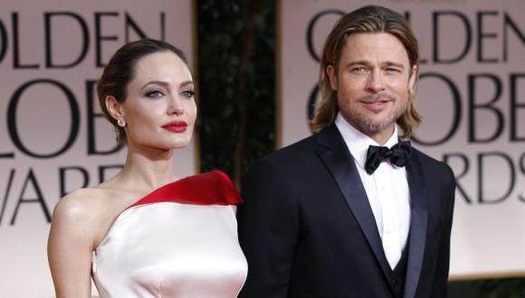 Acompañará a Brad Pitt. (Reuters)