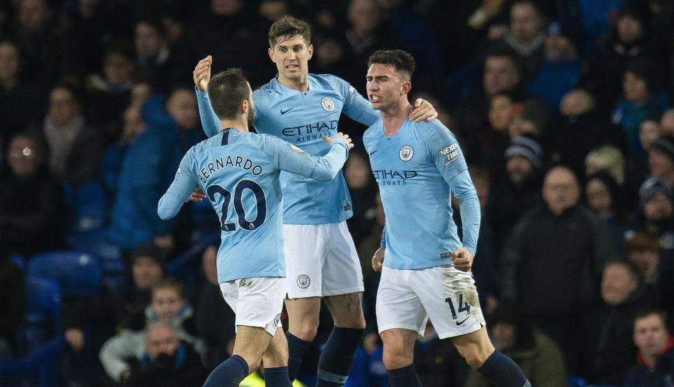 Manchester City venció 2-0 al Everton por la Premier League. (Foto: EFE)