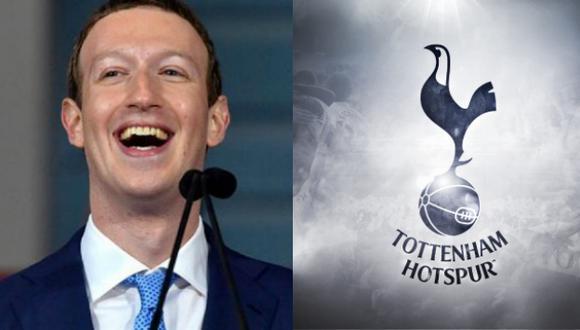 ¡Mark Zuckerberg quiere comprar el Tottenham! (Composición)