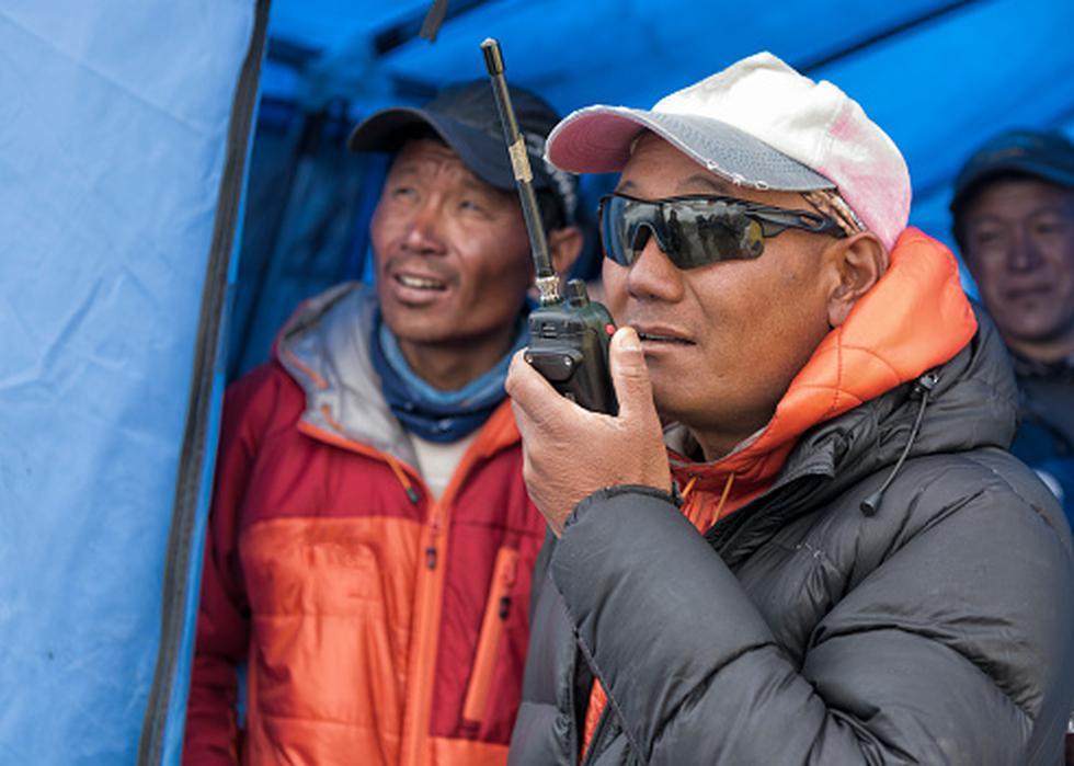 Los sherpas tienen la capacidad de administrar mejor el oxigeno gracias a la cantidad de hemoglobina que poseen. (Foto: Getty)