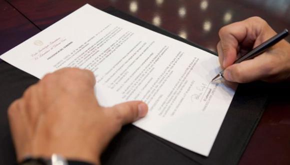 Doce meses toma la lectura de un testamento redactado en el exterior. (USI)