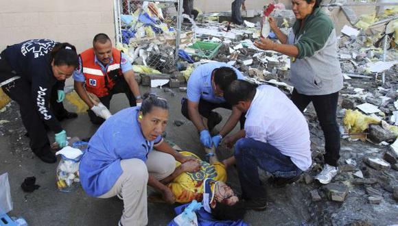 Heridos fueron llevados a un hospital cercano. (Reuters)