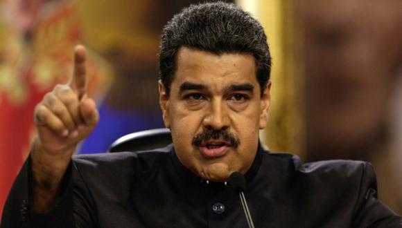El mandatario de Venezuela, Nicolás Maduro. (Foto: EFE)