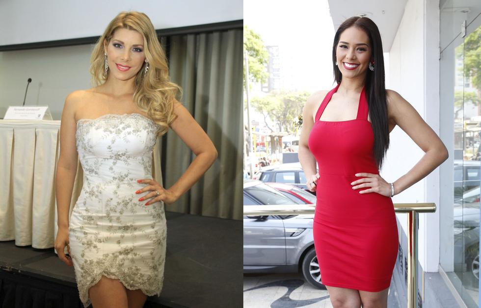 Karen Schwarz y Viviana Rivasplata elegirán a la nueva Miss Perú. (GEC)