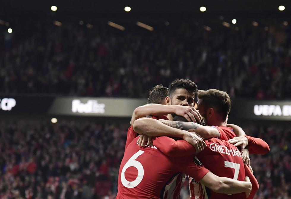 La revancha entre Atlético de Madri y Sporting se disputará el próximo jueves en Lisboa. (AFP)