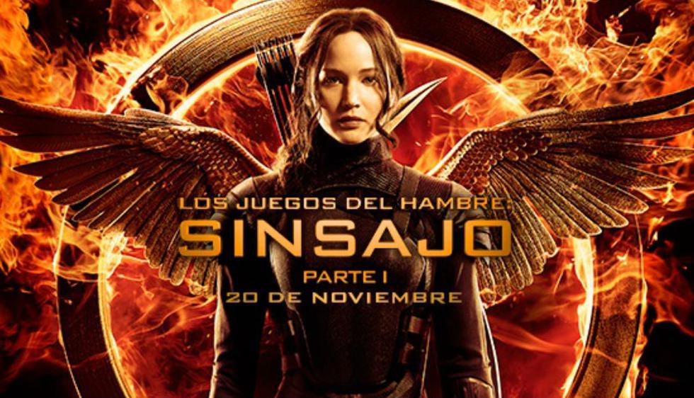 1. La primera entrega de la saga, 'Los juegos del hambre' (2012), logró recaudar cerca de 700 millones de dólares a nivel mundial, según cifras de IMDb. (Facebook Oficial)
