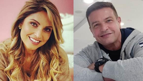 Karina Rivera y Orlando Fundichely: así fue su reencuentro en TV tras su divorcio (Foto: Instagram)