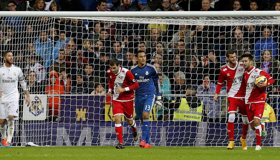 Real Madrid humilló 5-1 a Rayo Vallecano con gol de ...