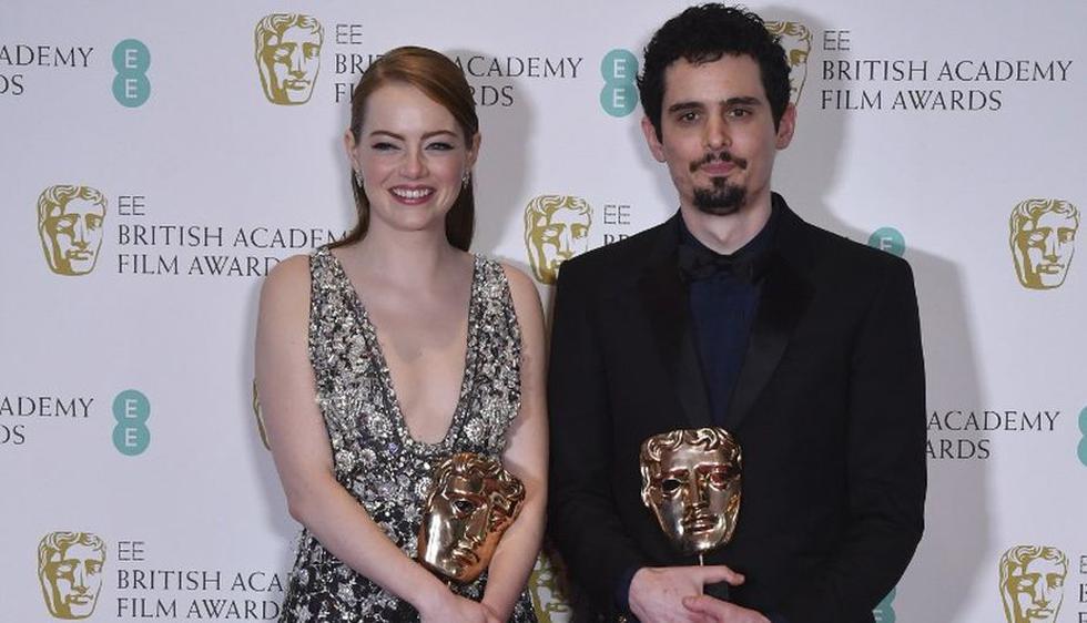 Ganadores de los premios BAFTA 2017.(AFP)