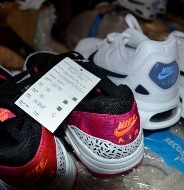 Callao: Incautaron cerca de mil pares de zapatillas 'bamba