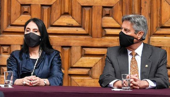Esta es la segunda oportunidad que la oficina de la Presidencial de la República rechaza las afirmaciones de la excanciller Astete. (Foto: GEC)