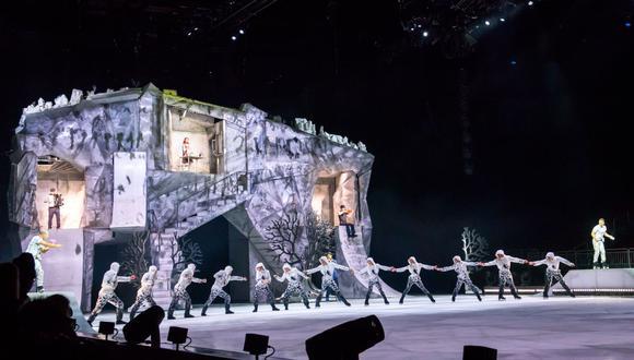 Los accionistas de Cirque du soleil anunciaron hace un mes la baja del 95% de sus empleados. (AFP).