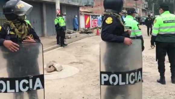 La PNP investiga el homicidio y por lo pronto viene interrogando a las últimas personas que lo vieron con vida (Foto: difusión)