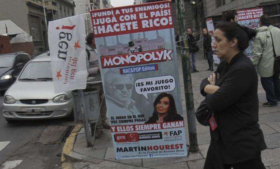 GRAVE. El 58% de argentinos cree que la corrupción creció mucho. (EFE)