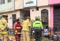 Esta es la delicada situación de los heridos tras la deflagración de gas en restaurante de La Victoria