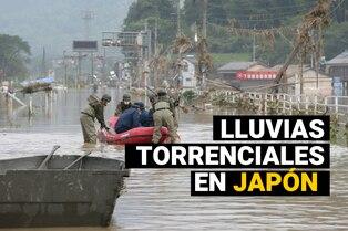 Japón: Impactantes imágenes de las devastadoras inundaciones