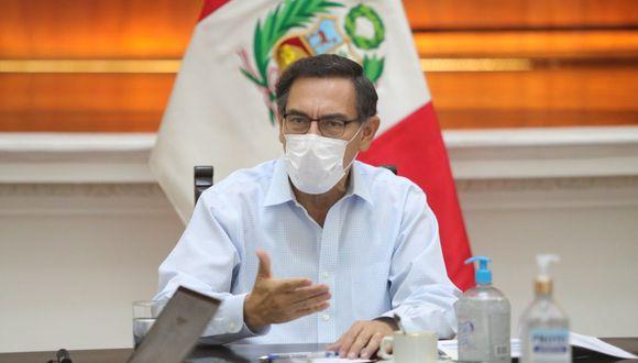 El presidente Martín Vizcarra exhortó a los legisladores a trabajar en forma conjunta con el Ejecutivo. (Foto: Presidencia)