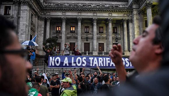 """¿Uruguay o Argentina?"" (AFP)"