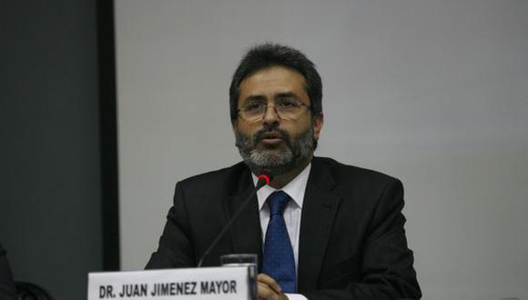 Jiménez Mayor dijo que se ha respetado derechos del alcalde de Espinar. (USI)