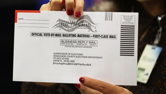 Imagen referencial. Millones de estadounidenses ya han emitido su voto y lo han enviado por el correo postal. (AFP).