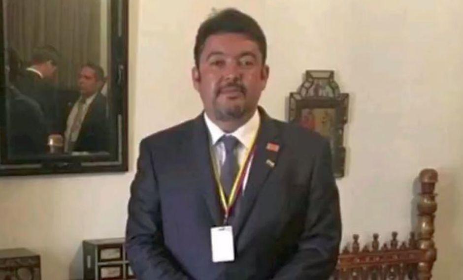El medio TVVenezuela ha informado que se desconoce el paradero de la mano derecha de Juan Guaidó, Roberto Marrero. (Foto: Captura Twitter)