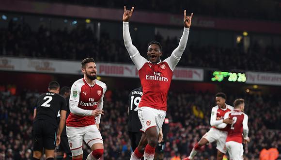 Arsenal y West Ham empataron sin goles recientemente por la Premier League. (AP)