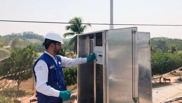 El Ministerio del Ambiente realizó un monitoreo de la calidad del aire en la frontera con Brasil. (Difusión)