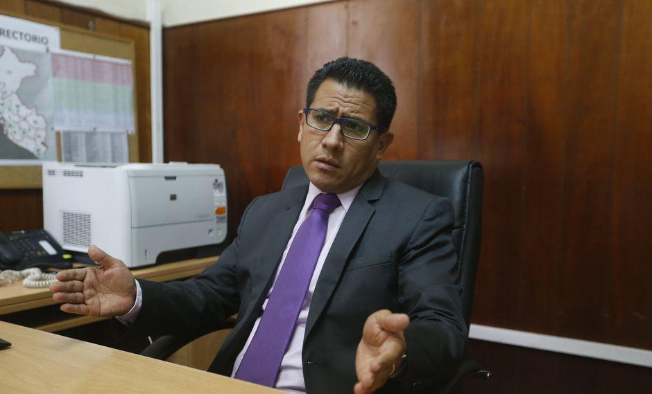 Amado Enco indicó que su denuncia solo atañe a Ramírez, y los fiscales no están incluidos en ella. (Foto: GEC)