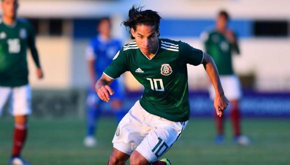 Diego Lainez puede jugar el Mundial Sub 20 en Polonia. (Foto: @Concacaf)