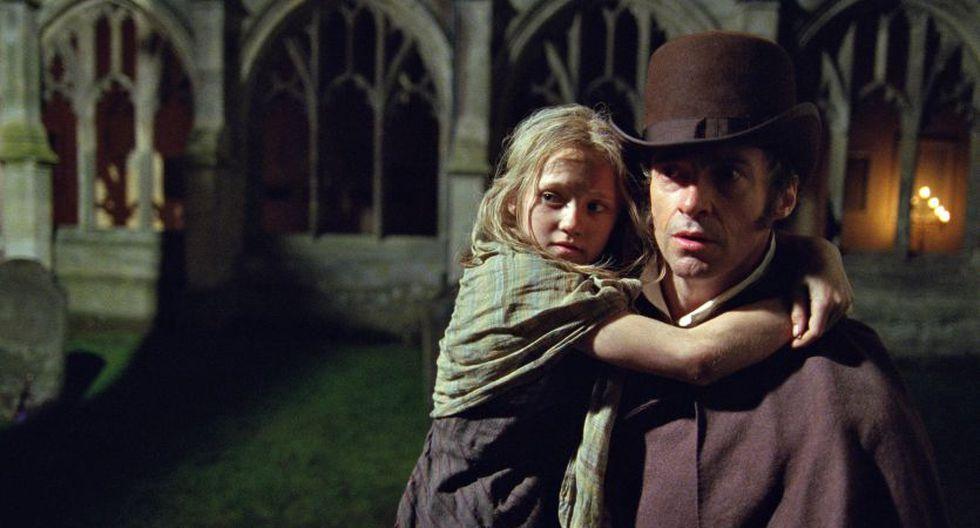 Hugh Jackman por el filme 'Los miserables'. (AP)