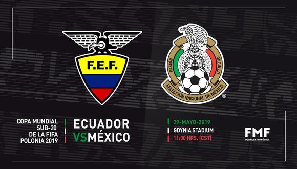 Ecuador tiene la primera chance de clasificar, pero México queire sacar su estirpe. (Foto: Selección Nacional de México)