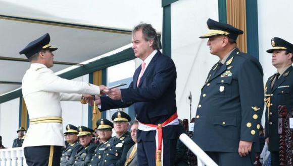 Ministro del Interior hizo un balance de su sector, en un discurso con saber a despedida.