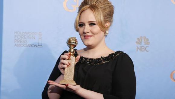 Adele ya consiguió un Globo de Oro gracias a Skyfall. (Reuters)