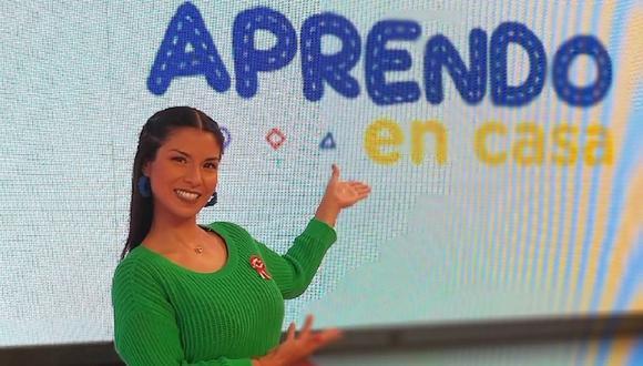 """""""Aprendo en casa"""" permite a los estudiantes peruanos continuar con su educación en medio de la emergencia nacional por la pandemia del coronavirus. (Foto: @stephanyorue)"""
