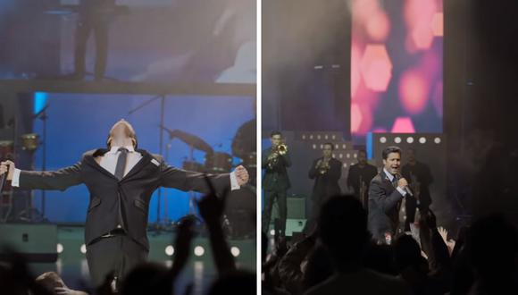 """Diego Boneta comparte imágenes donde se le ve cómo interpreta a """"Luis Miguel"""" más maduro. (Foto: Captura YouTube)."""
