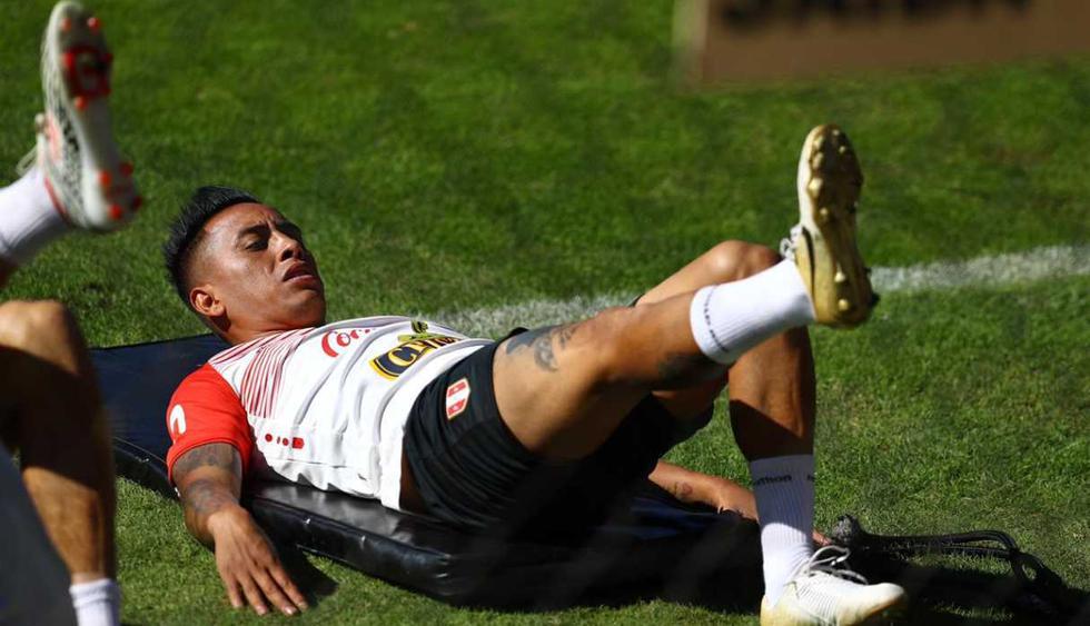 El último entrenamiento de la selección peruana en Sao Paulo. (Foto: Daniel Apuy - GEC)