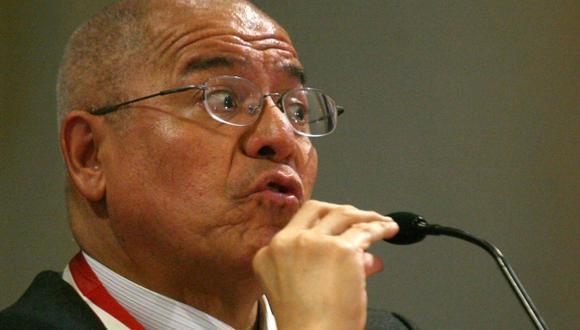 César San Martín reiteró que no cabe revisión de fallo en caso Fujimori. (Mario Zapata)