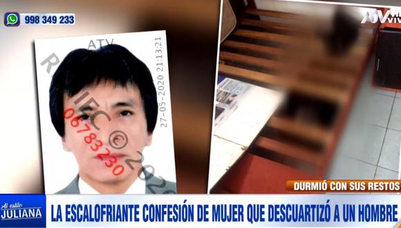 Yoni Sánchez Aguirre (54) vivía en una casa del jirón Los Mirales, en San Juan de Lurigancho. (ATV)