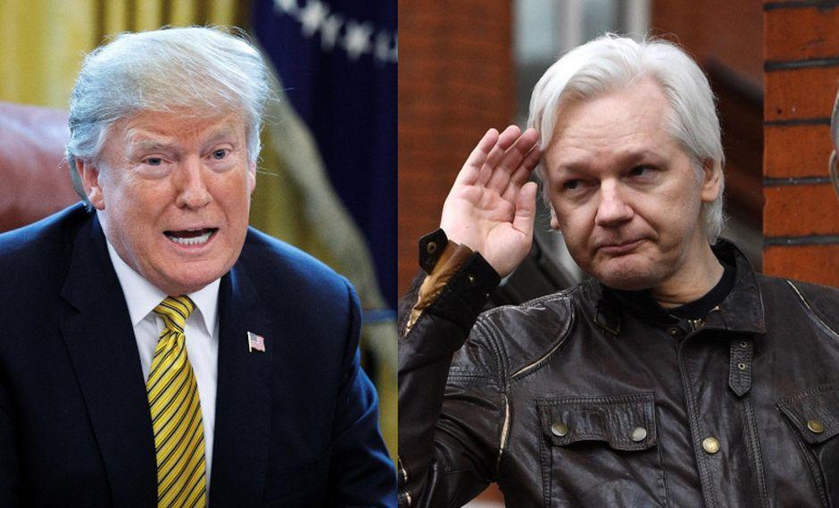 """Anteriormente, Donald Trump había proclamado en varias ocasiones su """"amor"""" por la plataforma fundada por Julian Assange. (Foto: EFE)"""