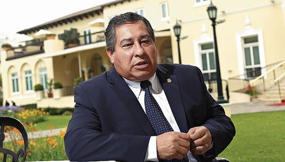 Abogado constitucionalista, Aníbal Quiroga (Foto: Víctor Idrogo/ El Comercio)