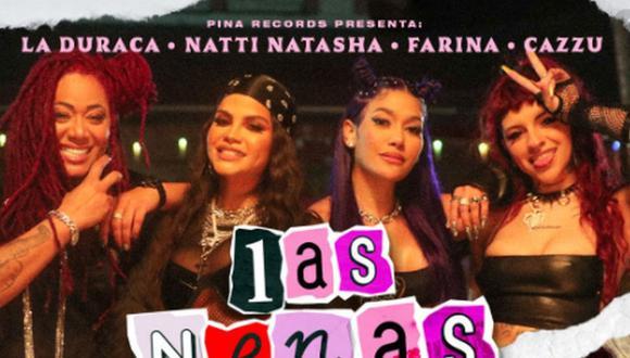 """Natti Natasha estrenó su nuevo tema """"Las Nenas"""" junto a un potente videoclip. (Foto: @nattinatasha)"""