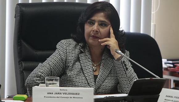 Ana Jara reiteró tesis de corrupción policial en caso López Meneses. (USI)