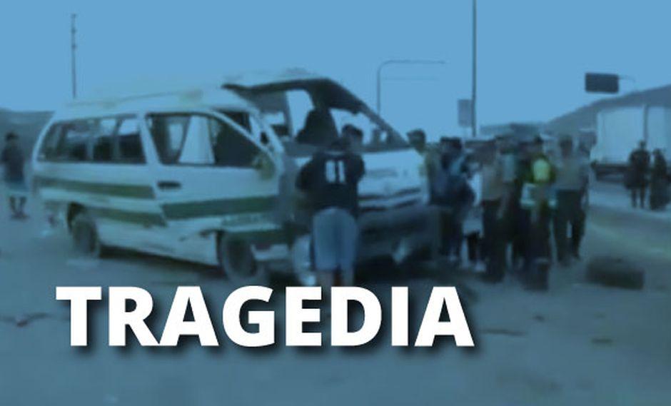 El chofer del vehículo ha sido identificado como Pedro Campos Aguirre.