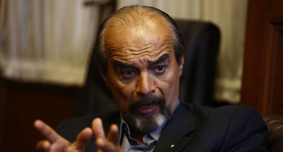 """El congresista aprista criticó la presentación """"tardía"""" de las propuestas del Ejecutivo (Roberto Cáceres)."""