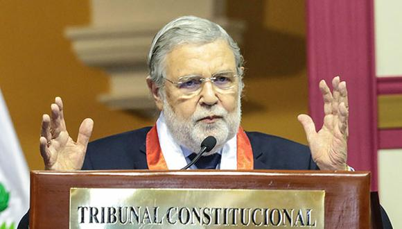 Ernesto Blume hizo votos para que se cumpla el trámite correspondiente para tener, a más tardar el 1 de marzo, conformada totalmente la comisión. (Foto: GEC)