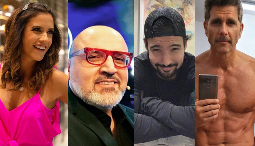 "María Pía Copello, Beto Ortiz, Christian Meier, Mario Hart, Bruno Pinasco se animaron a ""transformarse"" en ancianos (Foto: Instagram)"