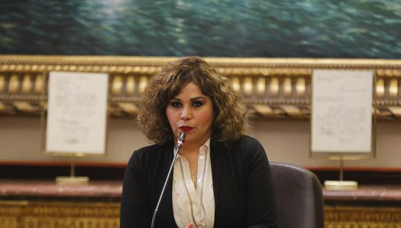 María Teresa Cabrera fue la jueza que condenó a la periodista Magaly Medina a cinco meses de prisión efectiva por haber difamado al futbolista Paolo Guerrero el 2008. (Foto: Congreso)