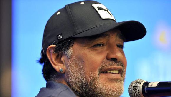 Diego Maradona falleció tras sufrir un paro cardiorespiratorio. (Foto: AFP)